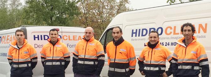 Equipo Hidroclean Bilbao