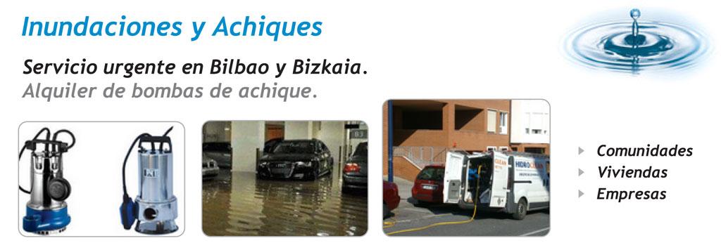 Inundaciones y Achiques