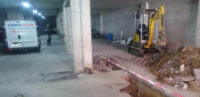 Inspección e informe de la red de saneamiento de edificio en Barakaldo