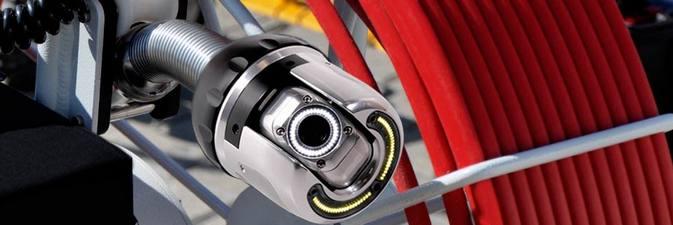 Robot con cámara para inspección de tuberías en Bilbao y Bizkaia