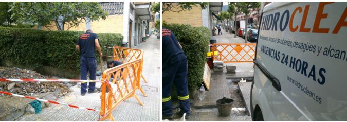 Reparación de arquetas y tuberías en Bilbao