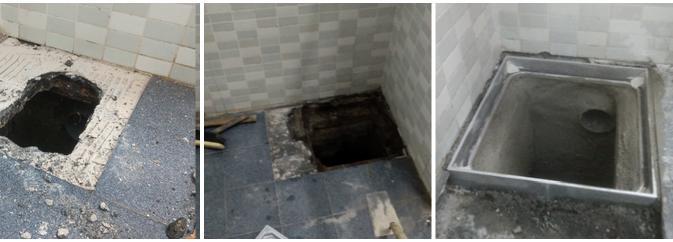 Limpieza y reparación de arquetas en Arrigorriaga