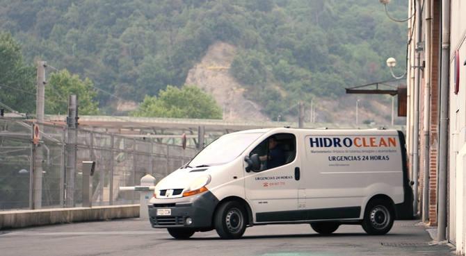 Unidad móvil, servicio desatascos urgentes en Bizkaia