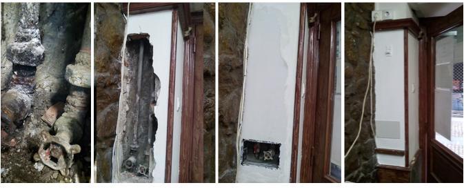Reparación de tuberías en comunidad de vecinos
